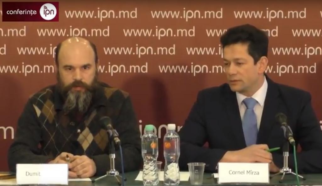 Dumitru Arion și Cornel Mârza, Mișcarea Ecologistă Urbană. Captură video de pe IPN.md