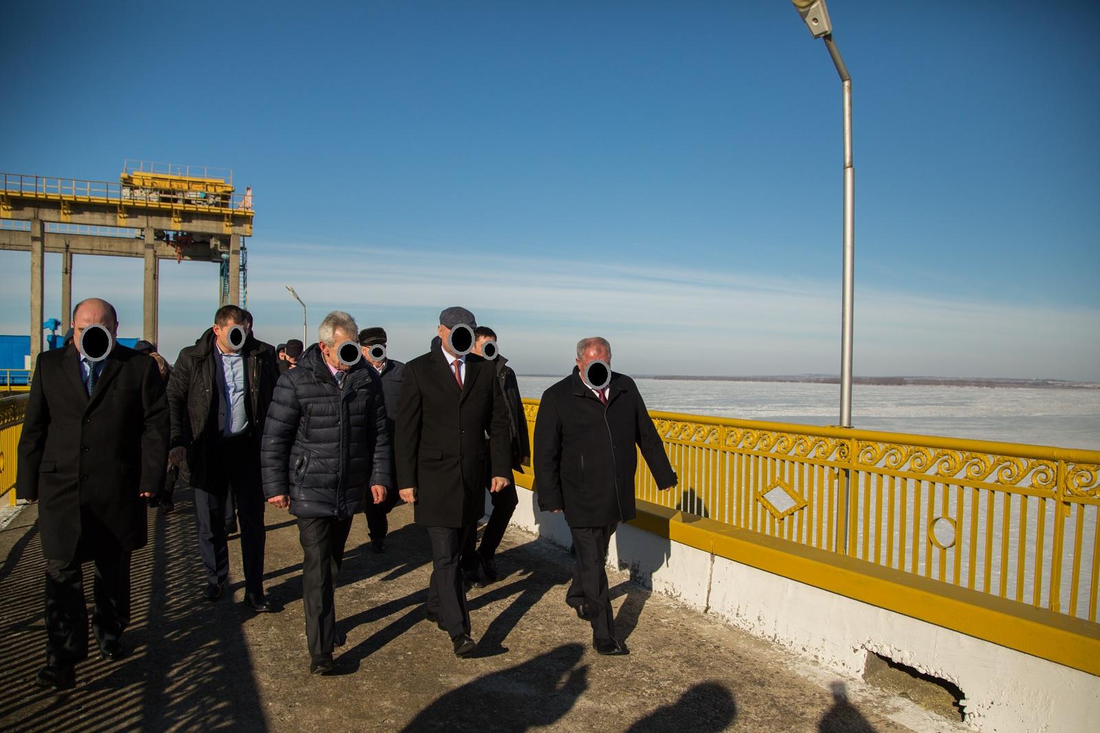 Nodul Hidrotehnic Costești-Stânca a fost vizitat de prim-ministrul XX