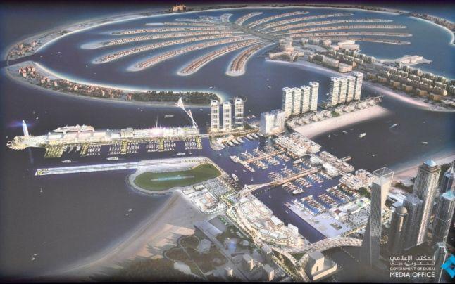 Dubaiul va construi cel mai mare port de agrement din Orientul Mijlociu