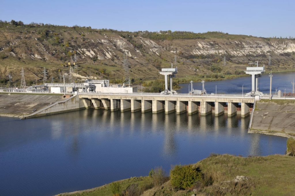 Barajul de la Novodnestrovsk. Sursa foto: novodnestrovsk.do.am