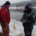 Verificarea permiselor de pescuit