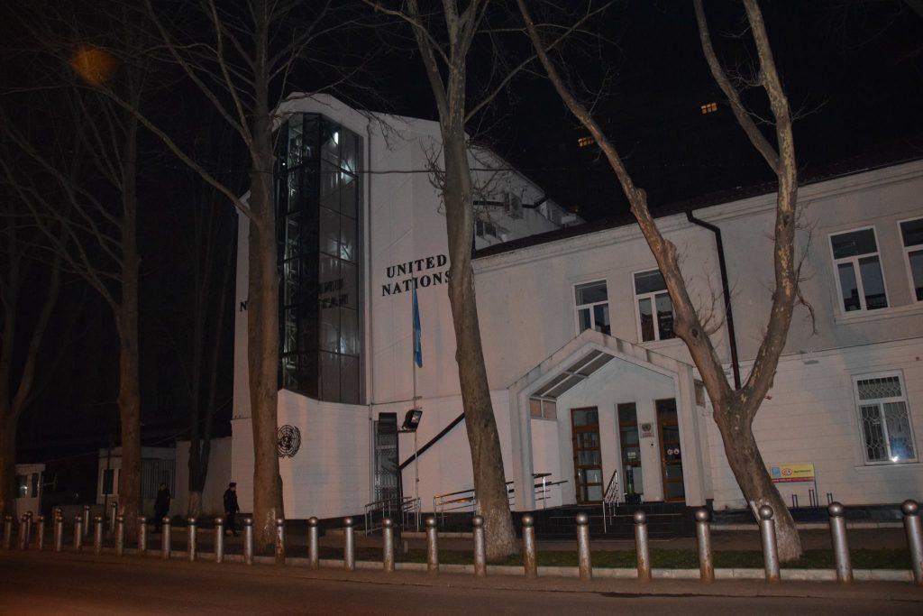 Casa ONU la Chișinău - Ora Planetei 2017. Foto: FB/UNDP Moldova