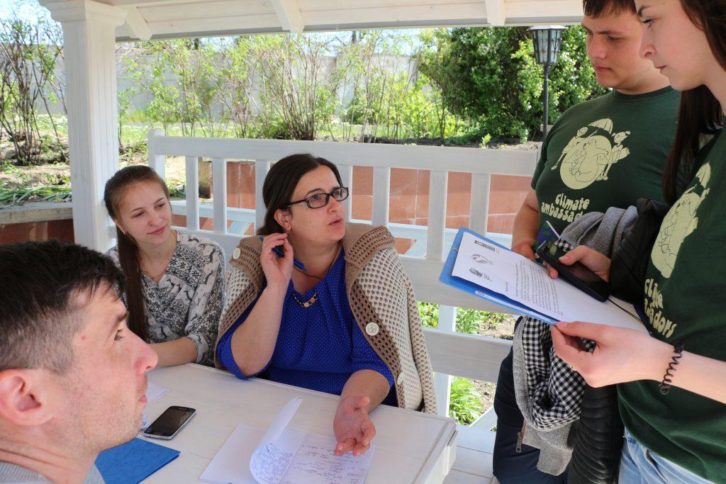 Instruirea benerificarilor de granturi SGP Moldova. Foto: @AJMTEM