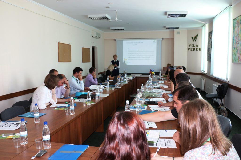 Moldova: Instruire pe aspecte financiare pentru semnatarii Convenției primarilor privind clima şi energia, 15 iunie 217
