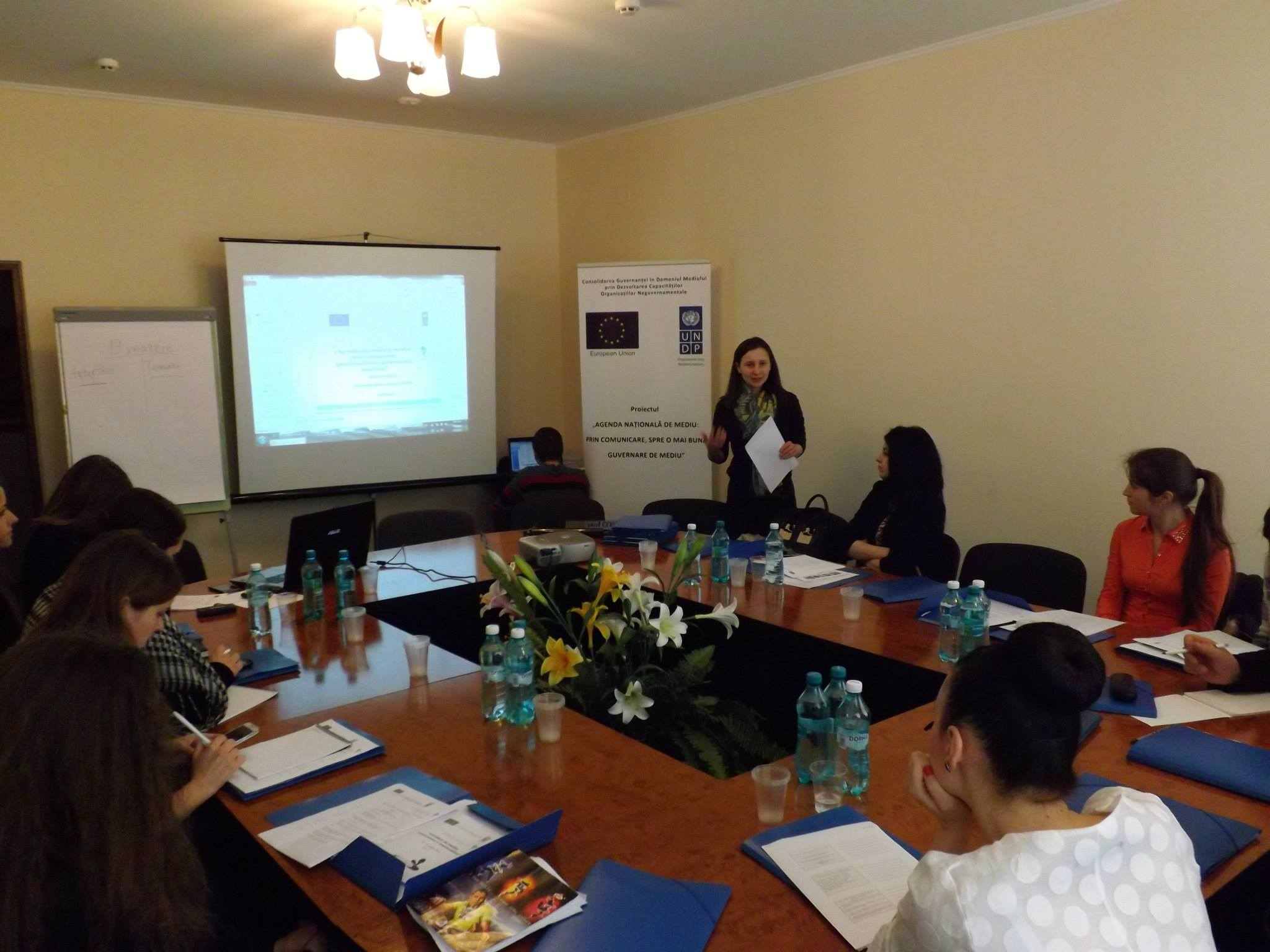 "Prima sesiune de instruire ""Jurnalism de mediu: scriem pentru a responsabiliza"""