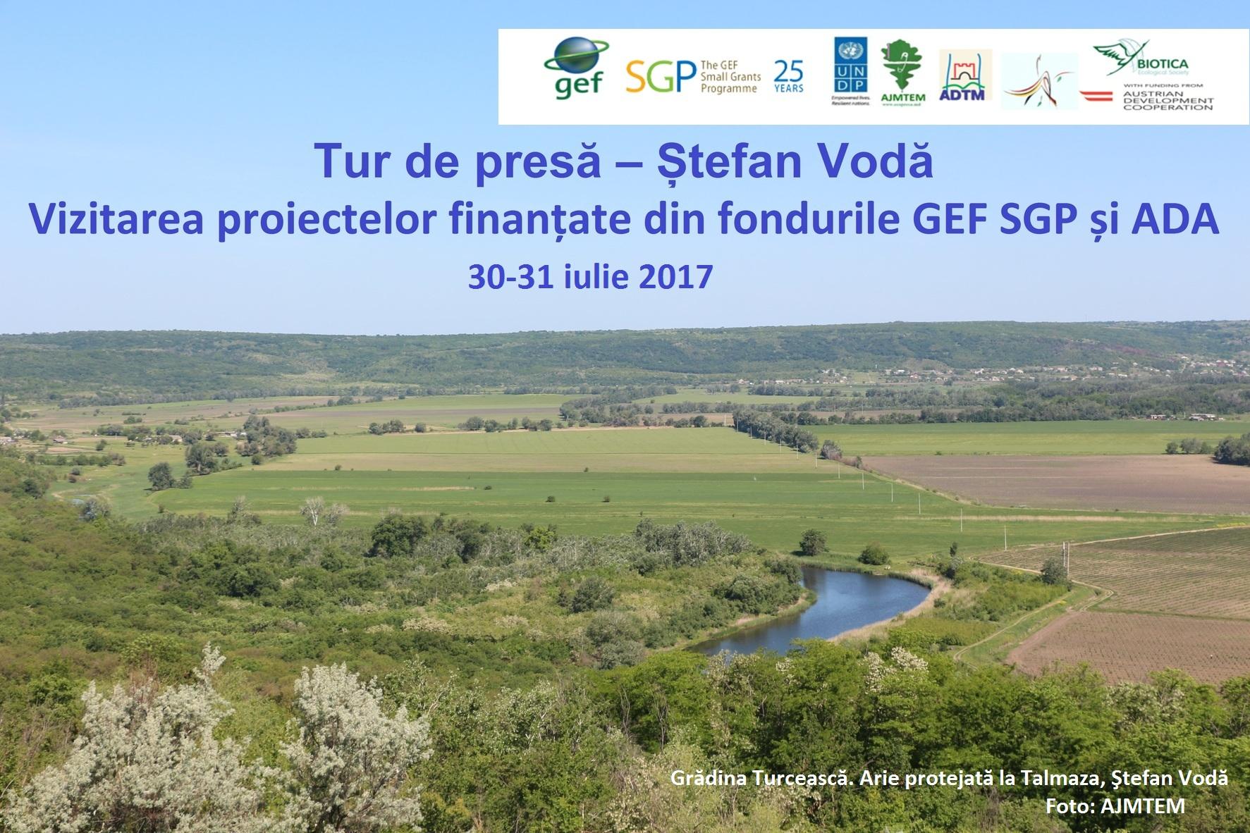 Tur de presă în localitățile din Ștefan Vodă