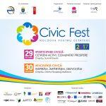 Civic Fest: Moldova pentru Cetățeni – 29-30 septembrie 2017