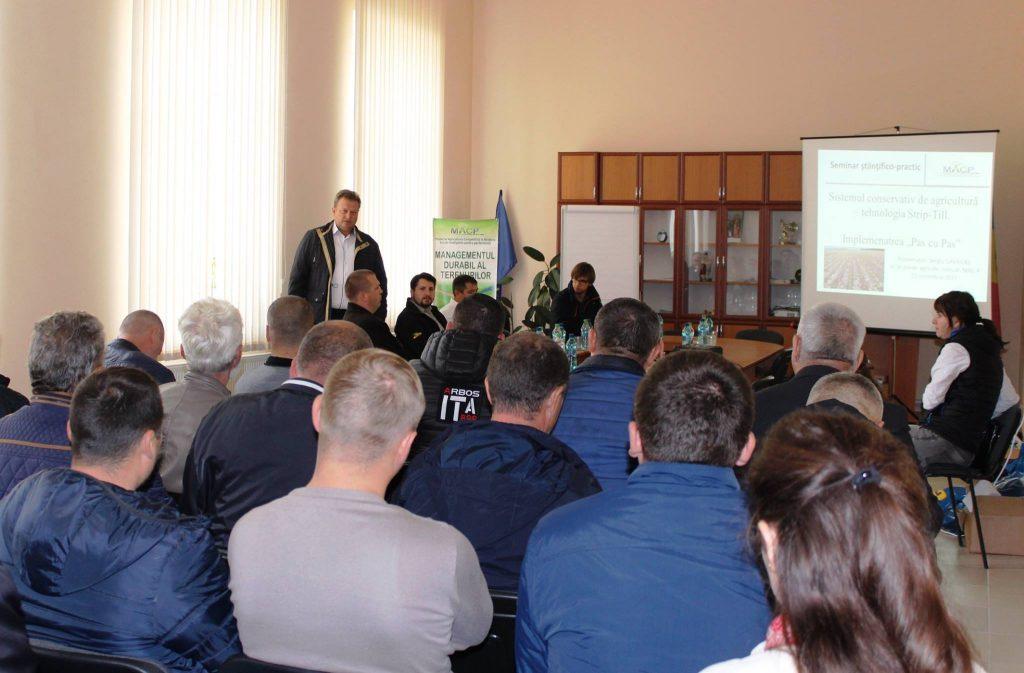"""Seminar științifico-practic cu generic """"Zilele Câmpului"""" la SRL """"Roua Piersicului"""""""