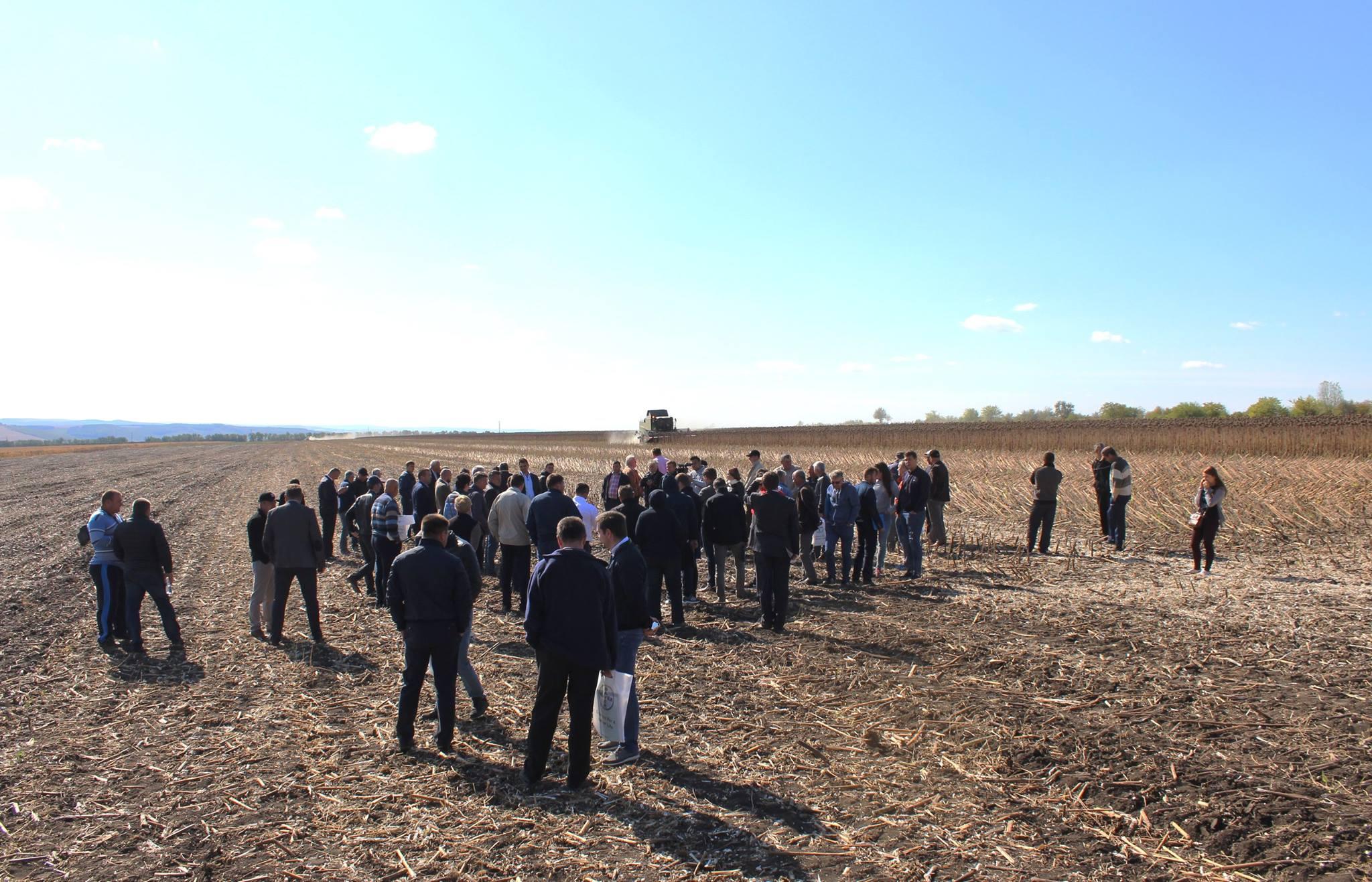 Agricultură conservativă pe câmpurile de la Hâncești