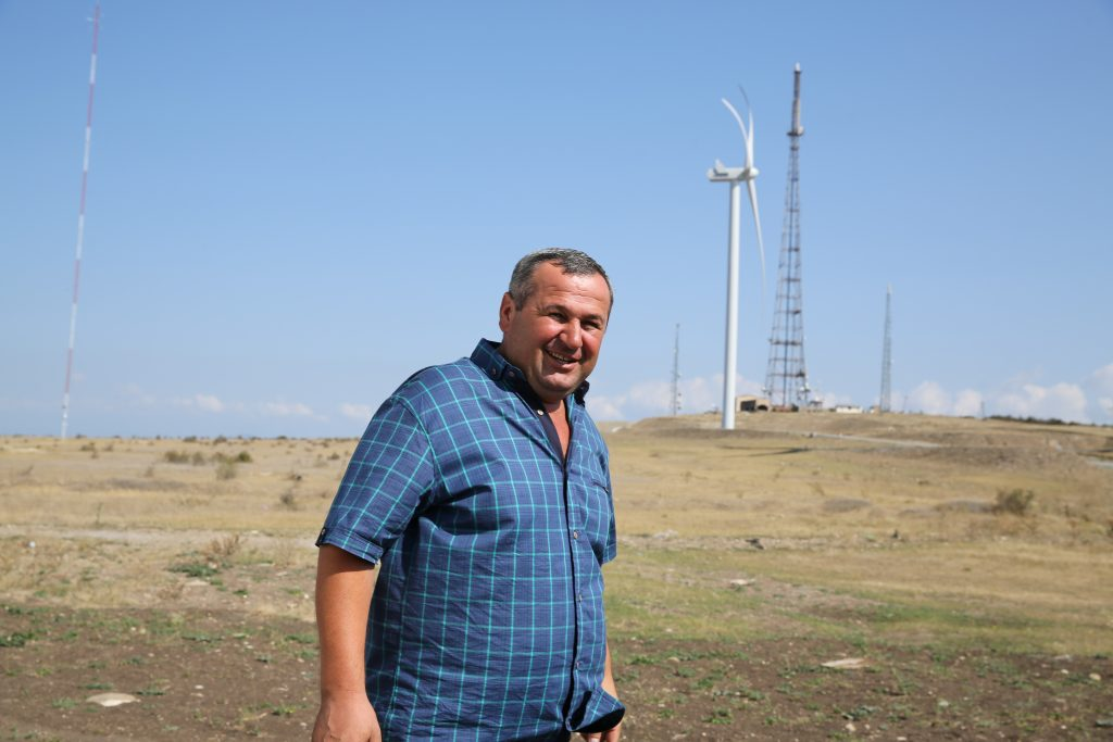 Zurab Samharadze, inginerul de la Gori