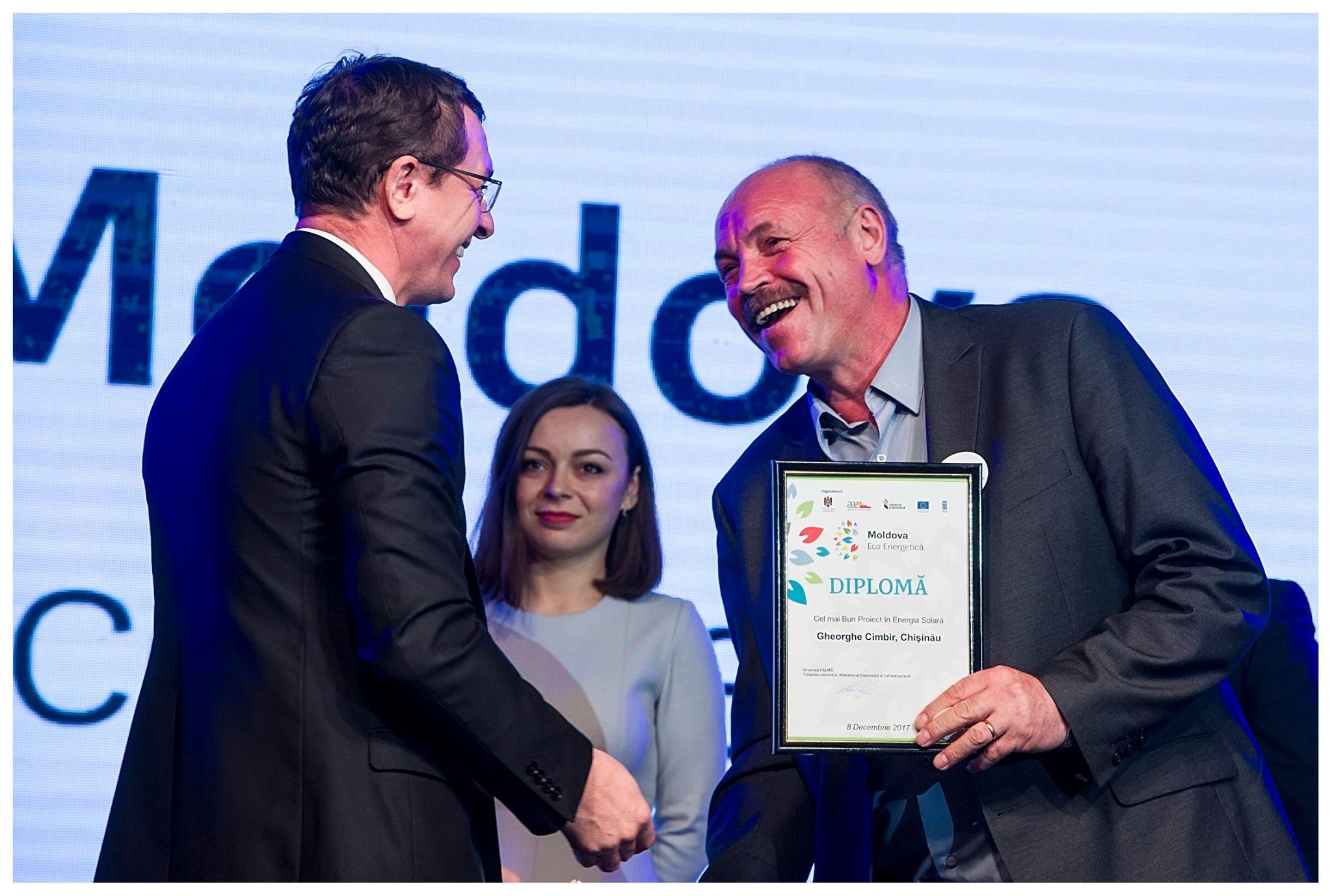 12 finaliști ai Galei Moldova Eco Energetică 2017