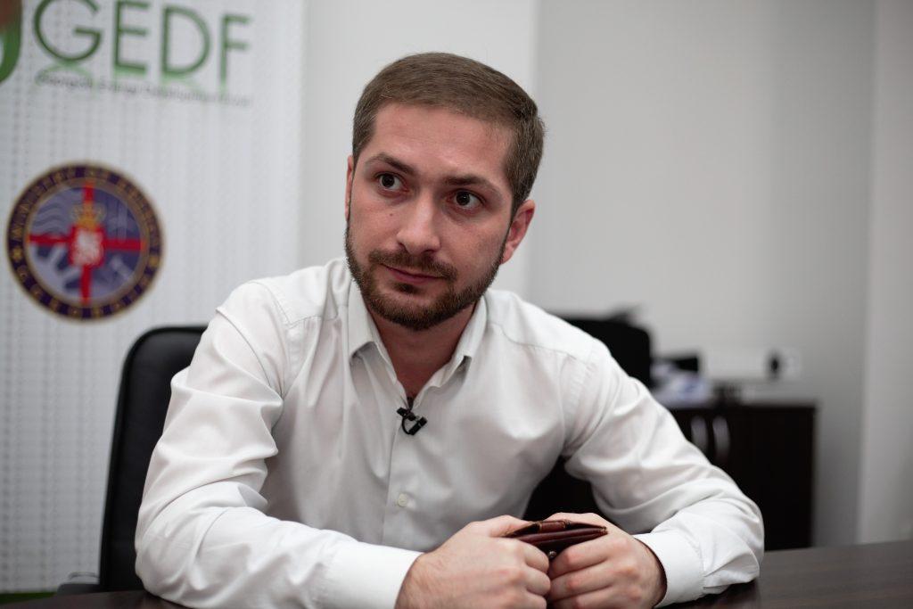 """Tornike Kazarashivili, președintele Consiliului de Administrare """"Parcul Eolian Quartli"""""""