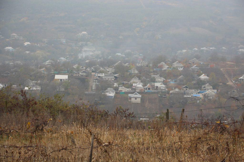 Vedere a satului Ciuciuleni. Foto: Lilia Curchi