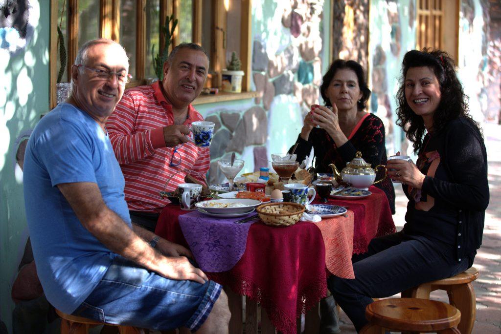 Pensiunea Nick&George este aleasă ca loc de popas de turiștii veniți să admire Parcul Național Borjomi-Kharagauli
