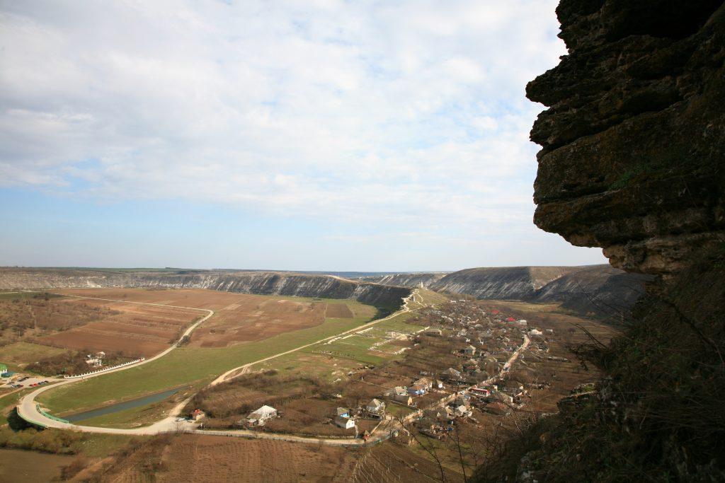 Promontoriul de la Orheiul Vechi. Foto: Alecu Reniță
