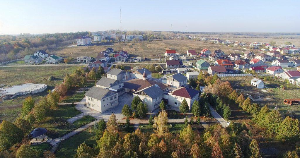 Vedere a orașului Edineț - cartierul Seminarului Teologic