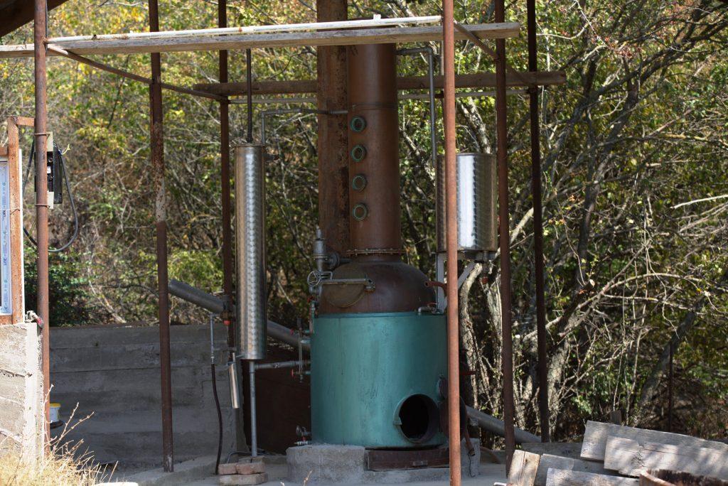 Instalație pentru fabricarea rachiului de casă