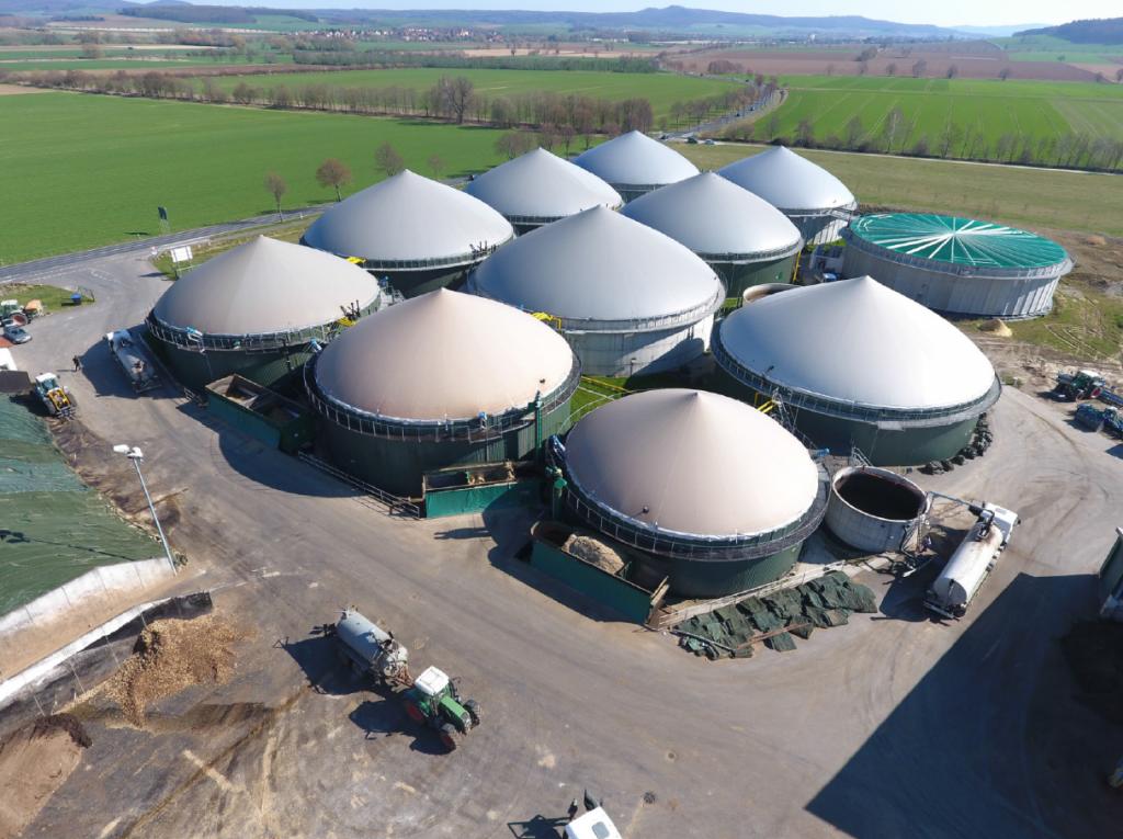 Stație de biogaz din Germania: un model care poate fi realizat și în Moldova. Foto: Spelleken Assoc.
