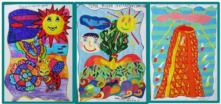 """Concurs național de pictură pentru elevi  """"Natura în ochii copiilor"""""""