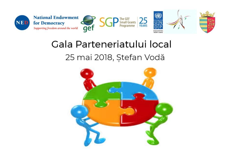 La Ștefan Vodă societatea civilă se întrunește la Gala Parteneriatului local