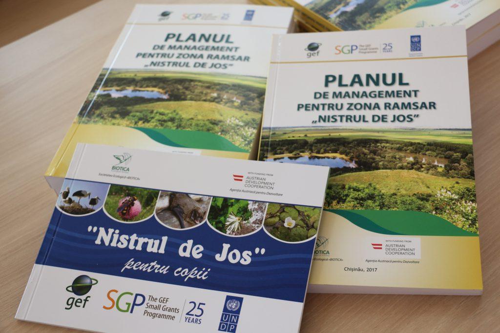 Ediții realizate cu sprijinul GEF SGP Moldova