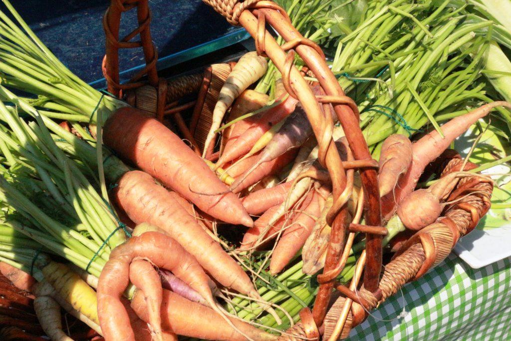 Morcovi din grădina Nadiei Ştirbu