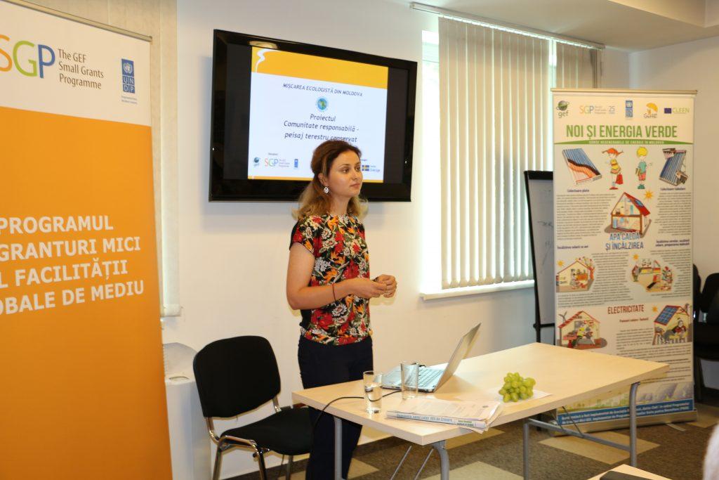 Prezentarea activităţilor realizate de Mişcarea Ecologistă din Moldova