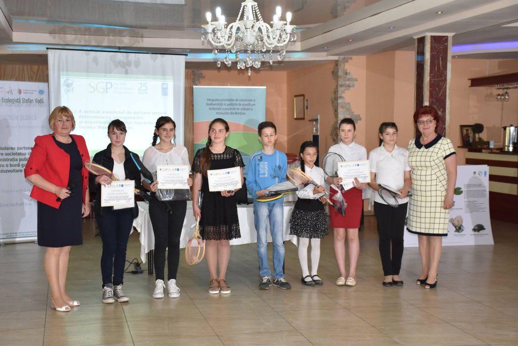 Câștigătorii Concursului de fotografie și desen au fost premiați la Gala Parteneriatului Local, Ștefan Vodă, 2018