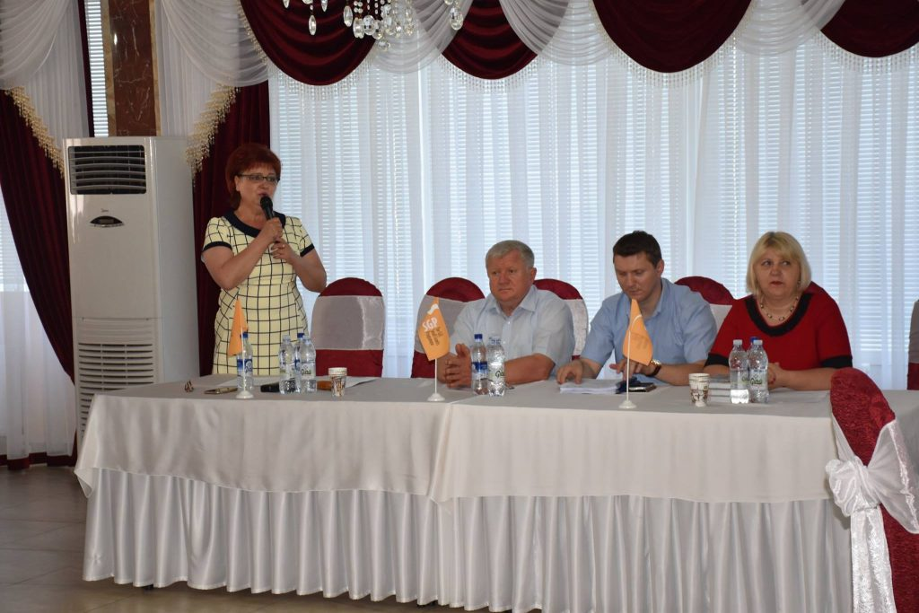 Tatiana Marin deschide Gala parteneriatului local, Ștefan Vodă, 2018