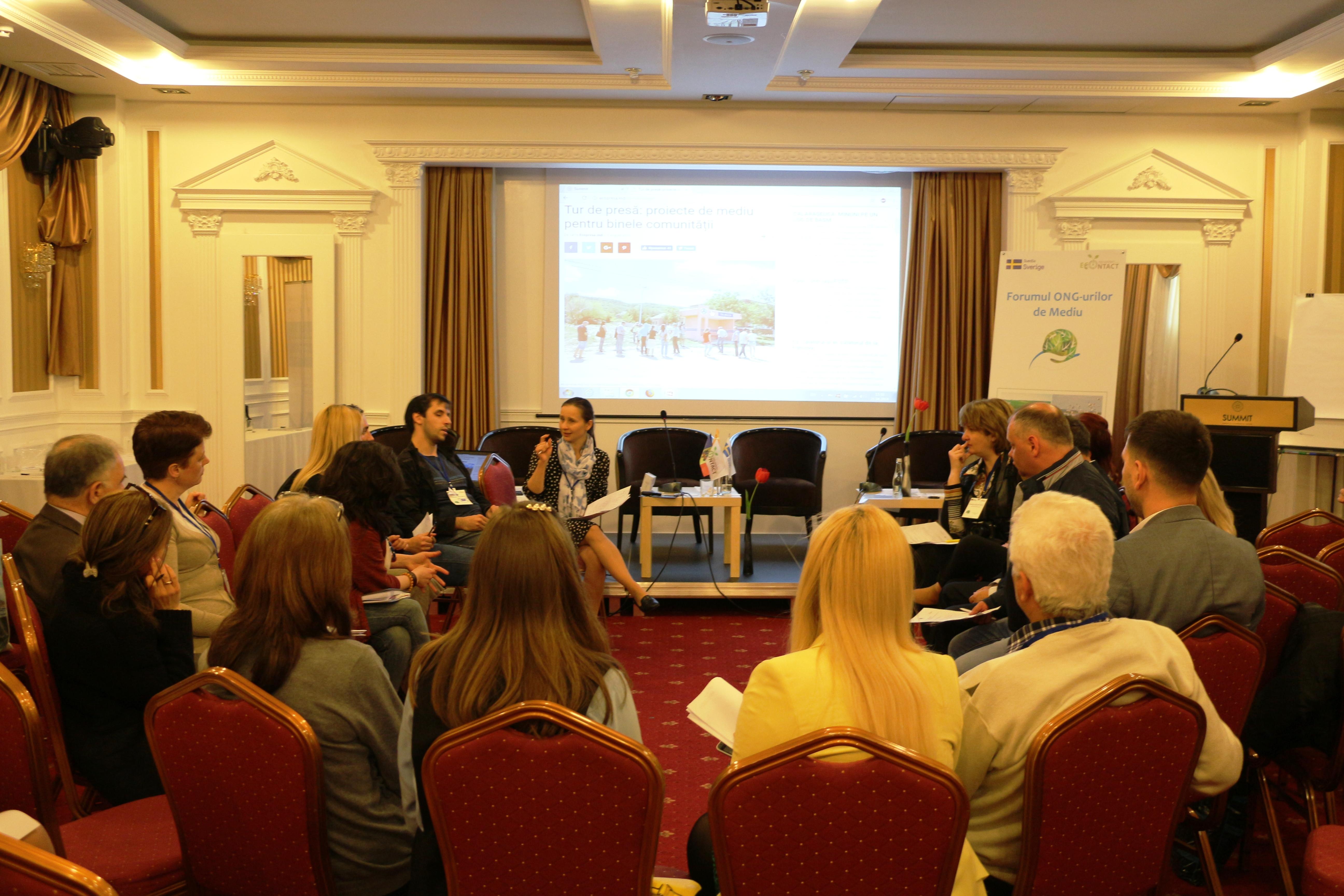 Atelier AJMTEM: Parteneriate de succes între mass media și beneficiarii de proiecte