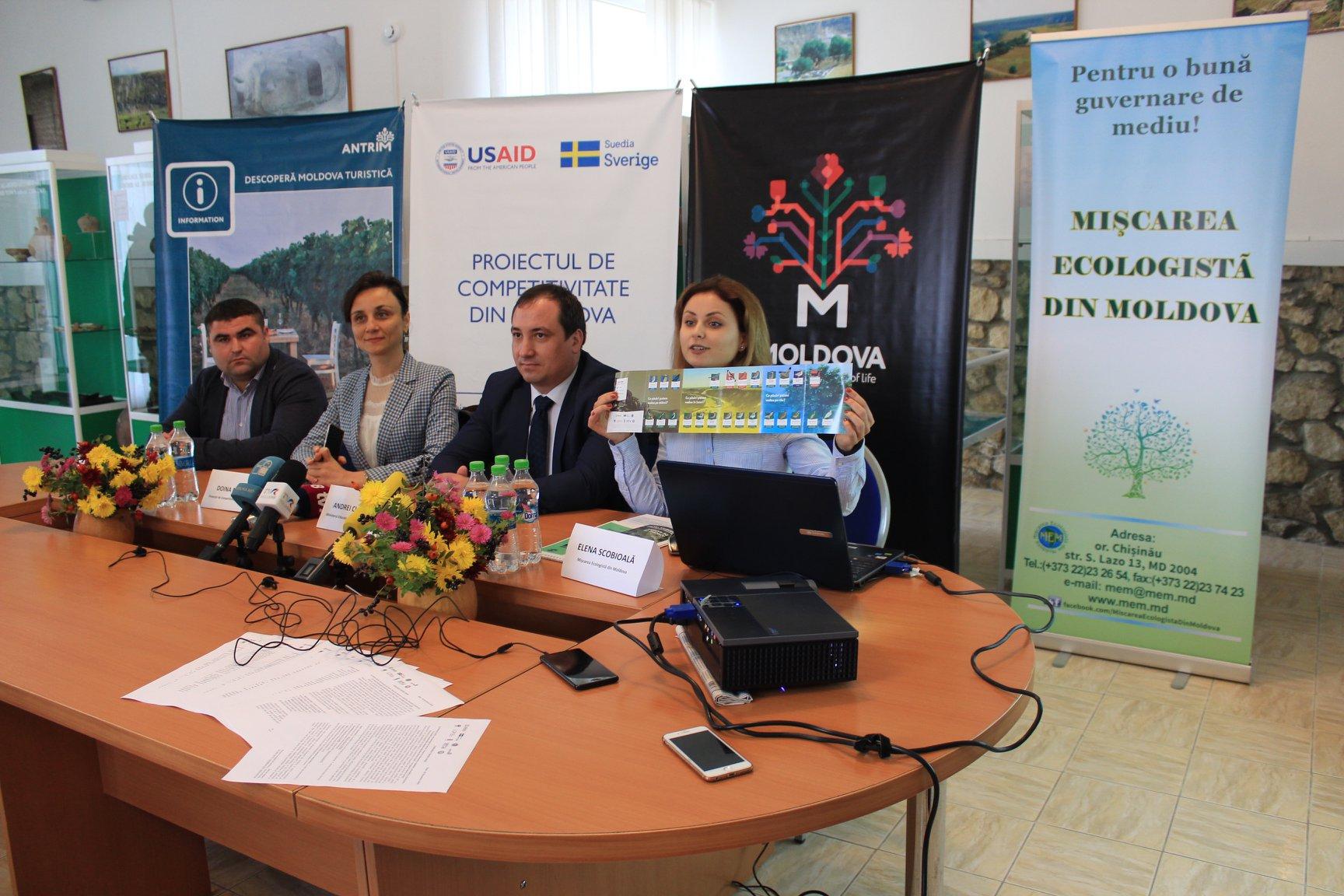 Conferința de prezentare a traseelor de observare a păsărilor, drumeţii şi cicloturism în arealul Rezervaţiei cultural-naturale Orheiul Vechi