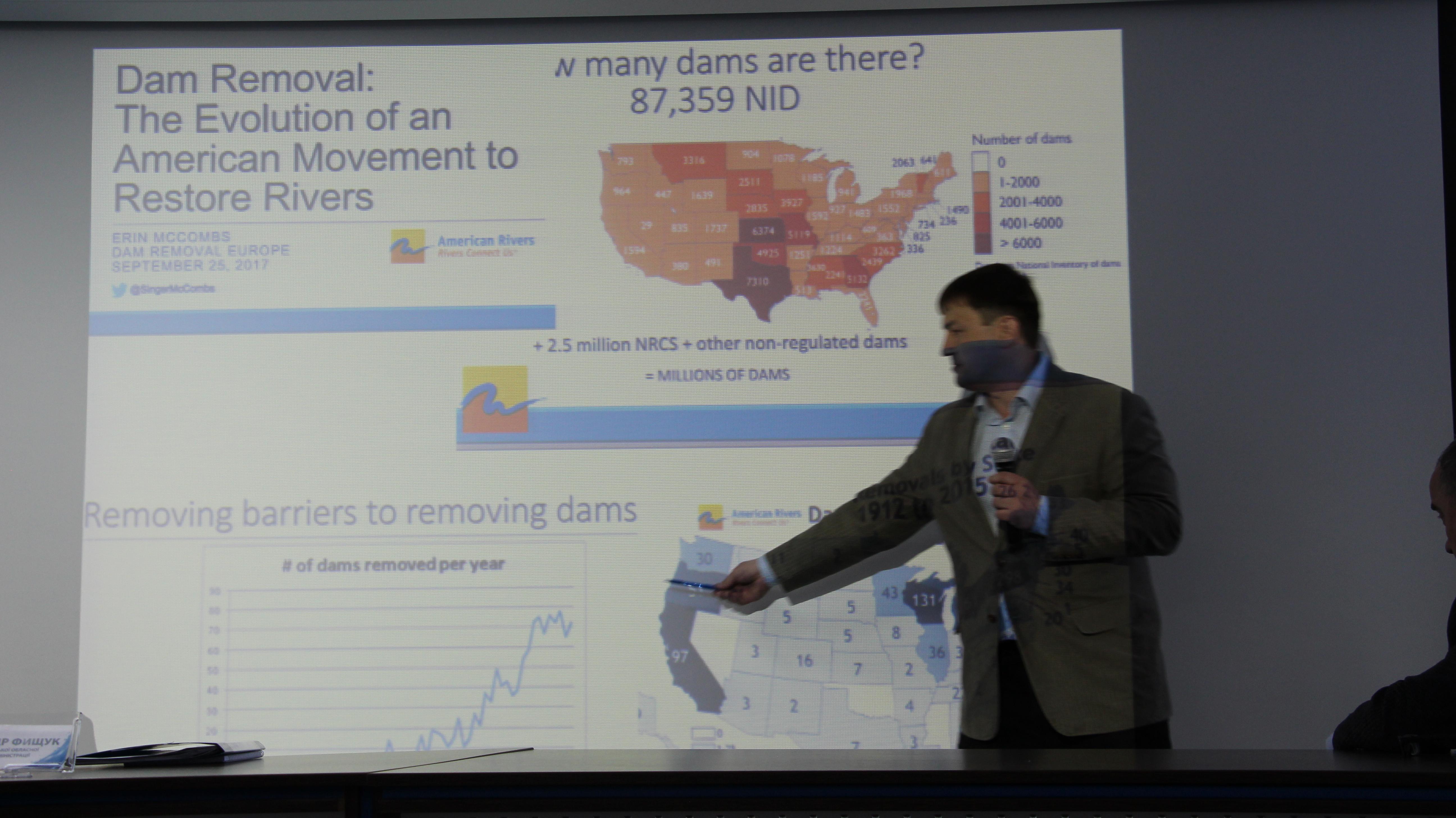 Voci distincte la Forum: ce se întâmplă în lume cu hidrocentralele? Foto: Lilia Curchi