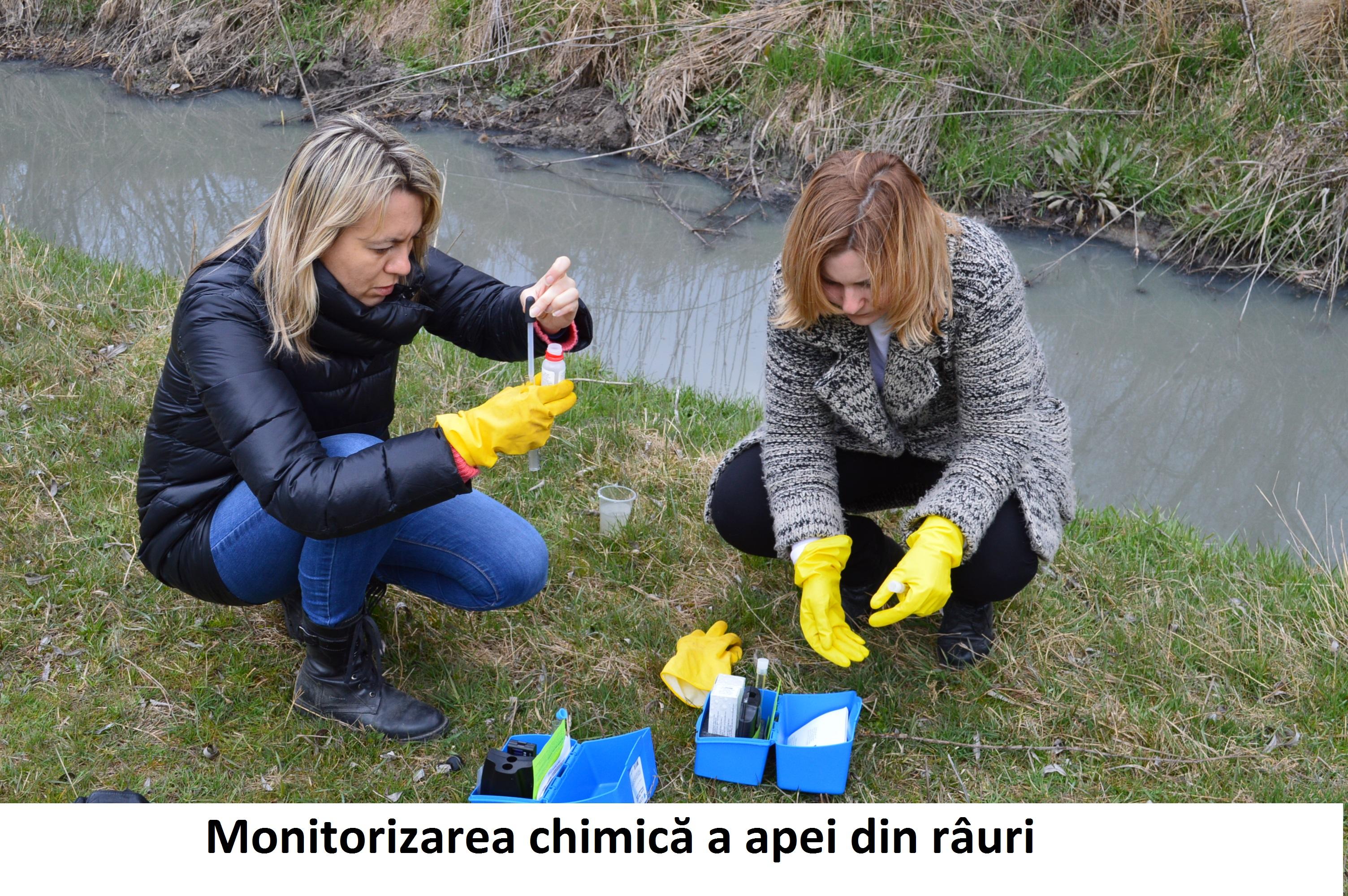 Monitorizarea chimică a apei din râuri: Iuliana Cantaragiu și Ina Coșeru, Centrul Național de Mediu