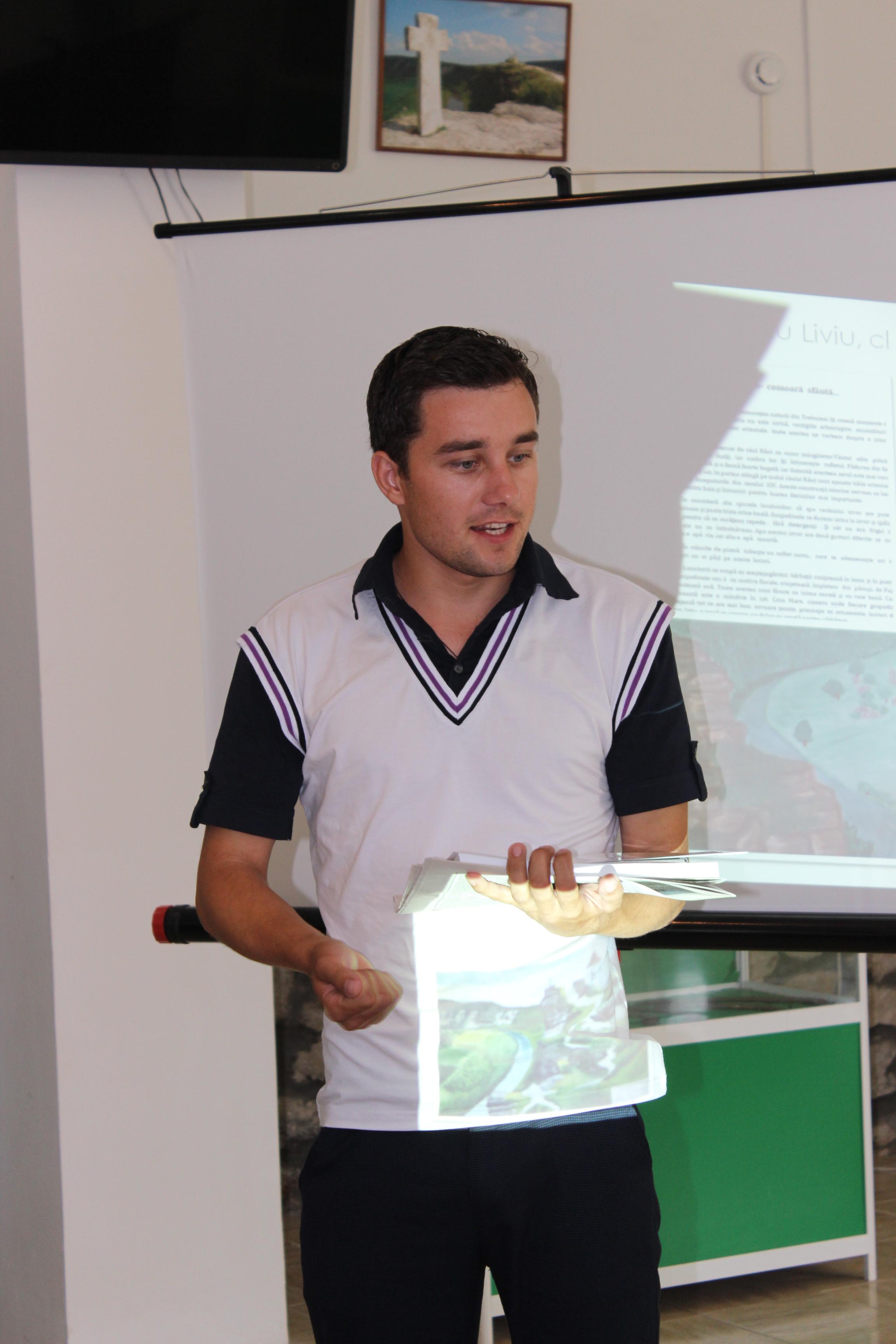 Sergiu Suvac, profesor de geografie și istorie, IP Gimnaziul Ivancea, Orhei