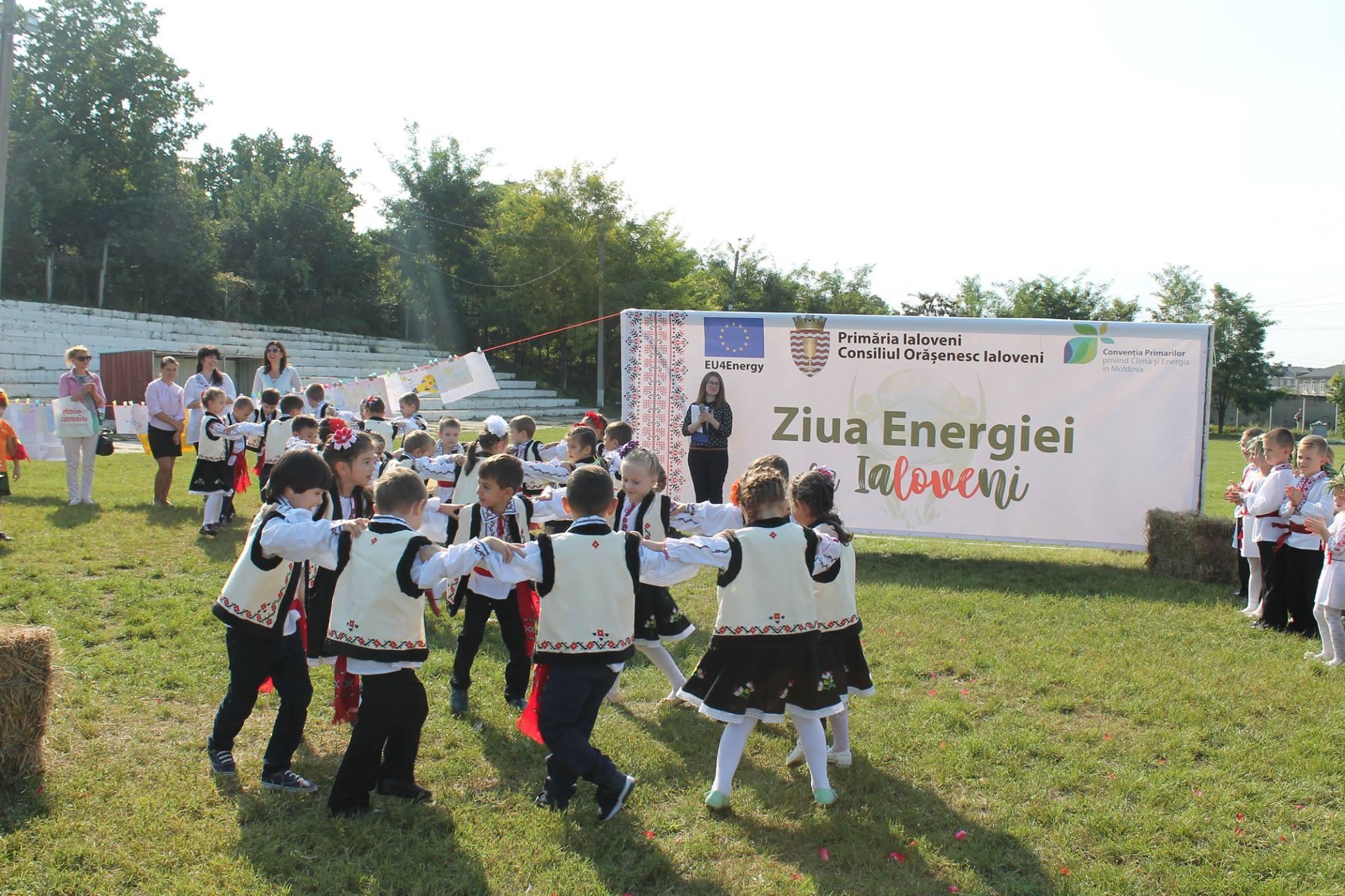 Ziua Energiei - un eveniment de promovare a energiei verzi în orașele semnatare ale Convenției Primarilor Foto de la Ziua Energiei la Ialoveni, 14 septembrie 2018