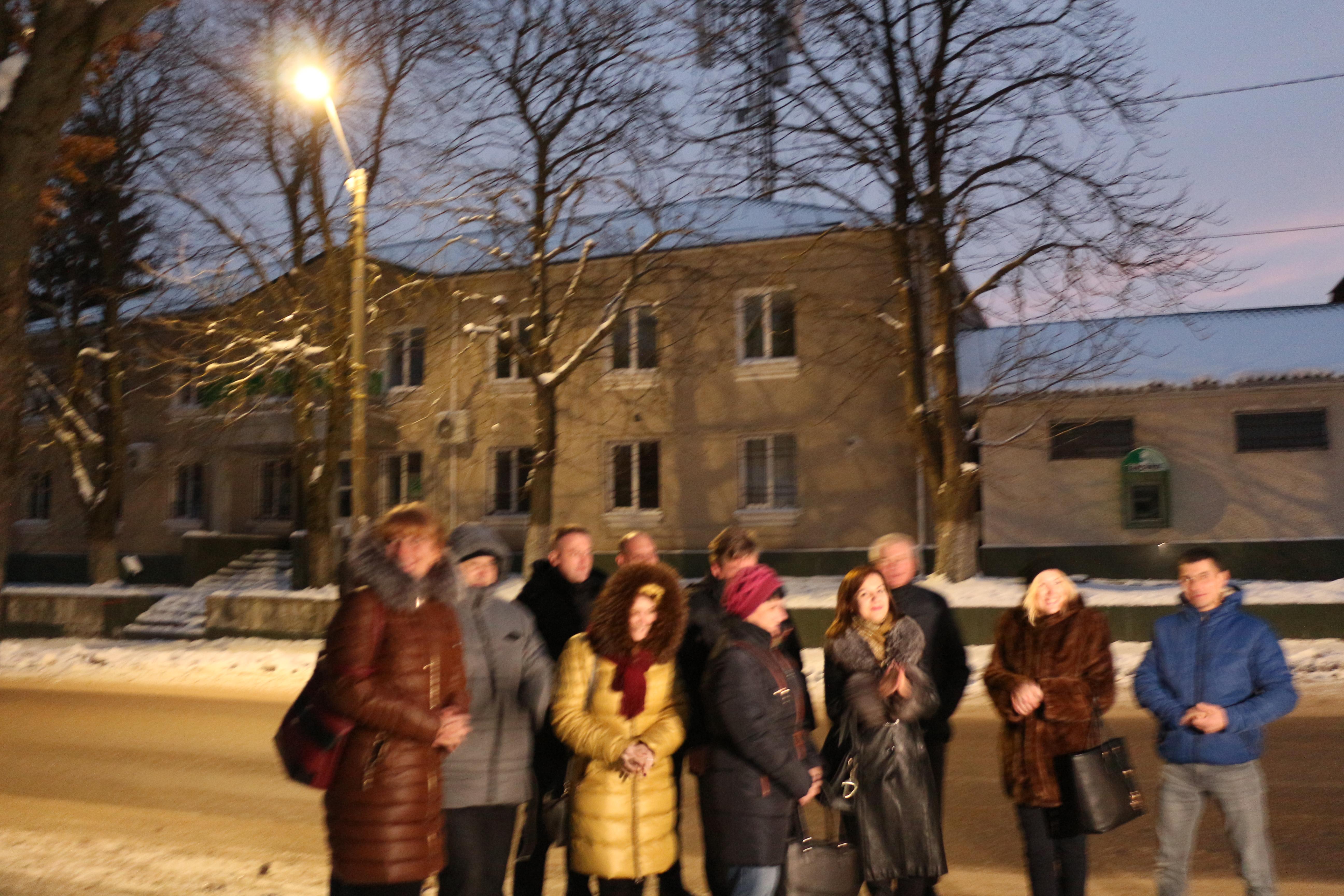 Ocnița, 30 noiembrie 2019 Inaugurarea iluminatului stradal inteligent, proiect realizat în cadrul Programului Convenția Primarilor-Proiecte Demonstraționale