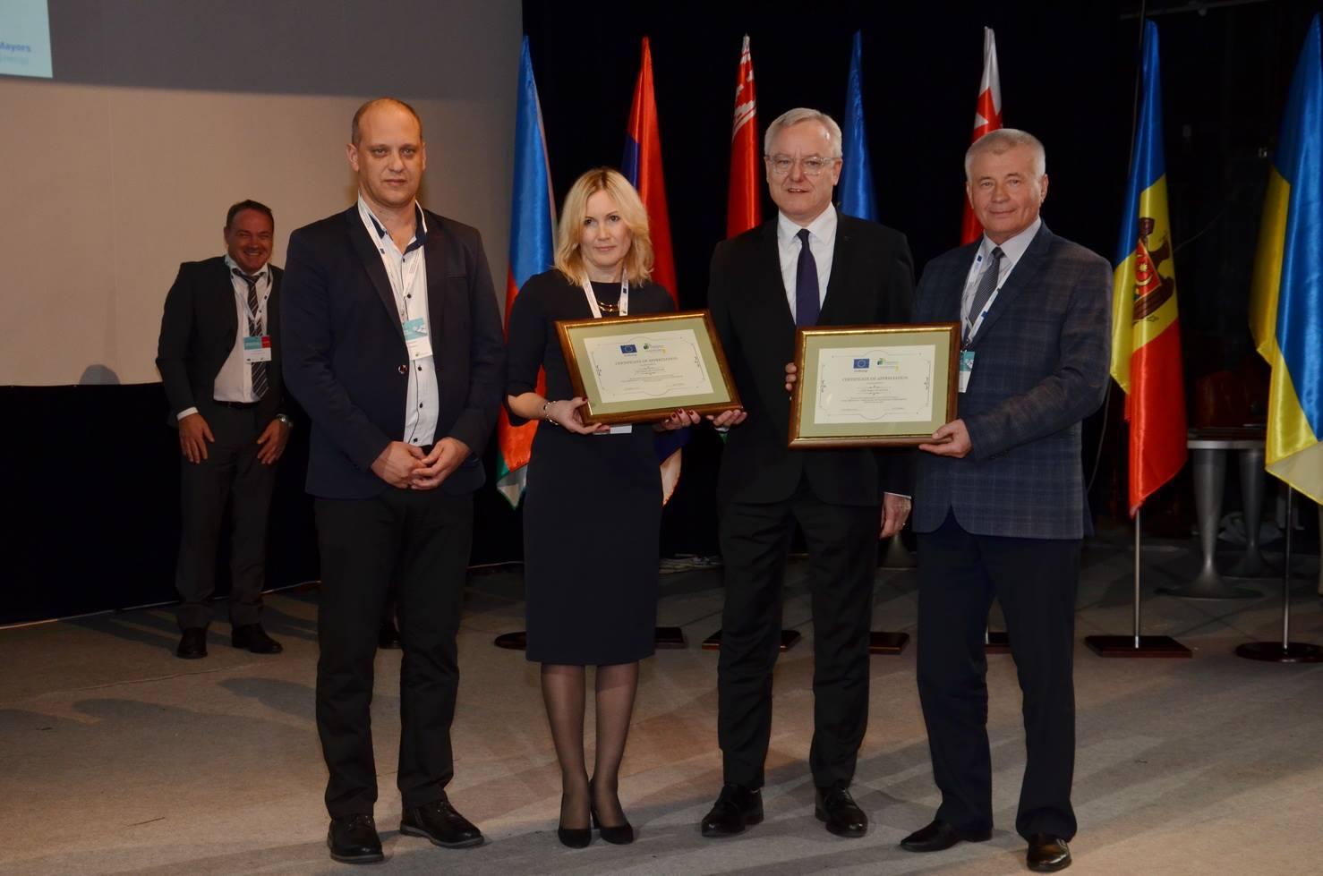 Diplome pentru două primării din Republica Moldova – Ocnița și Cantemir