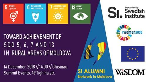 Apă, sanitație, energie și schimbările climatice în R. Moldova: atelier de lucru dedicat obiectivelor de dezvoltare durabilă
