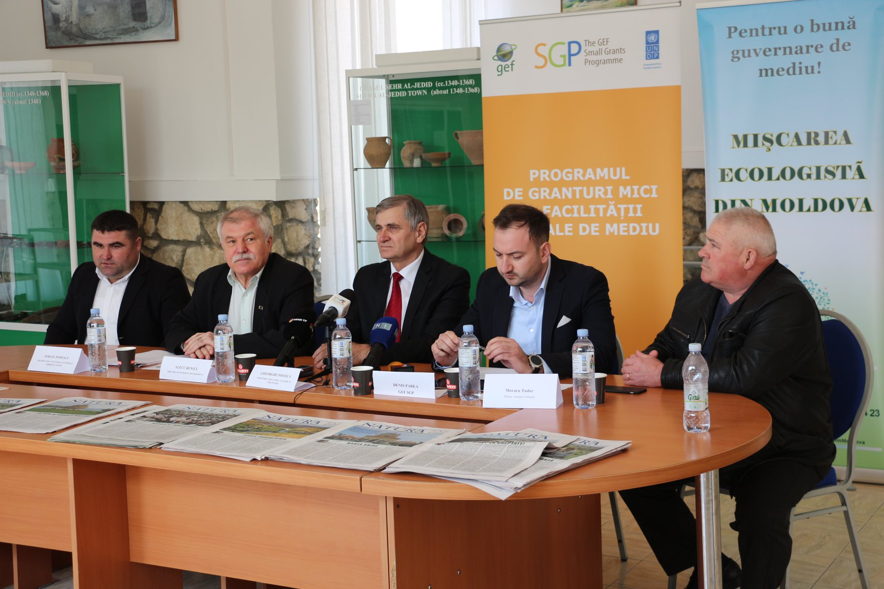Conferință de presă de prezentare a rezultatelor actiunii de plantare a fâșiei riverane de protecție la Orheiul Vechi