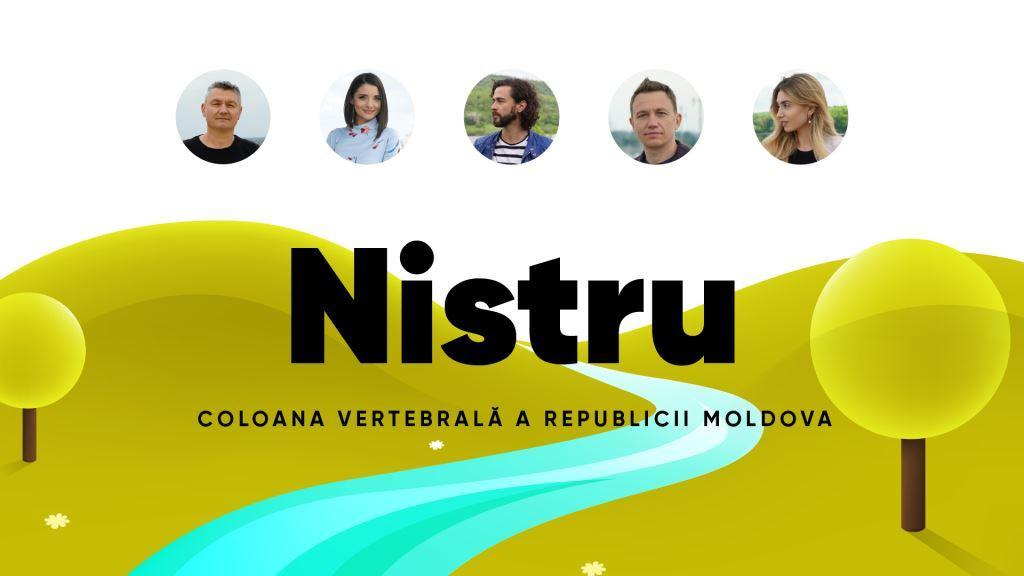Campanie: Nistru e coloana vertebrală a Republicii Moldova
