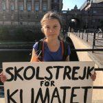 Manifestaţiile săptămânale pentru climă, iniţiate de Greta Thunberg, s-au mutat în mediul online