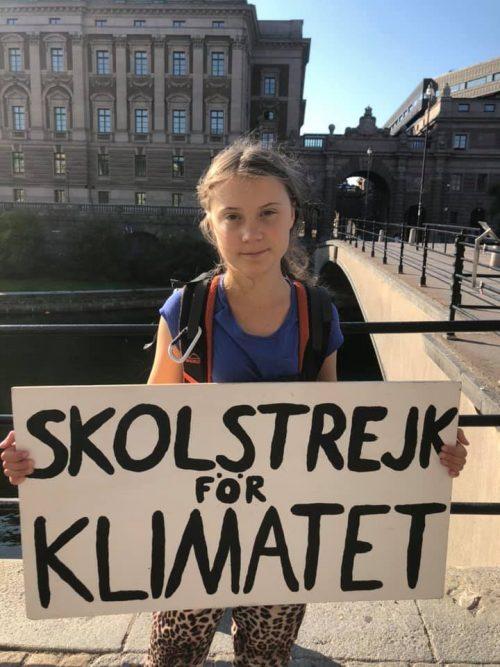 Ecologista Greta Thunberg va traversa Atlanticul cu o barcă cu pânze, pentru a reduce poluarea