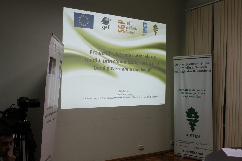 """Fişă de proiect """"Agenda naţională de mediu: prin comunicare, spre o mai bună guvernare a mediului"""""""