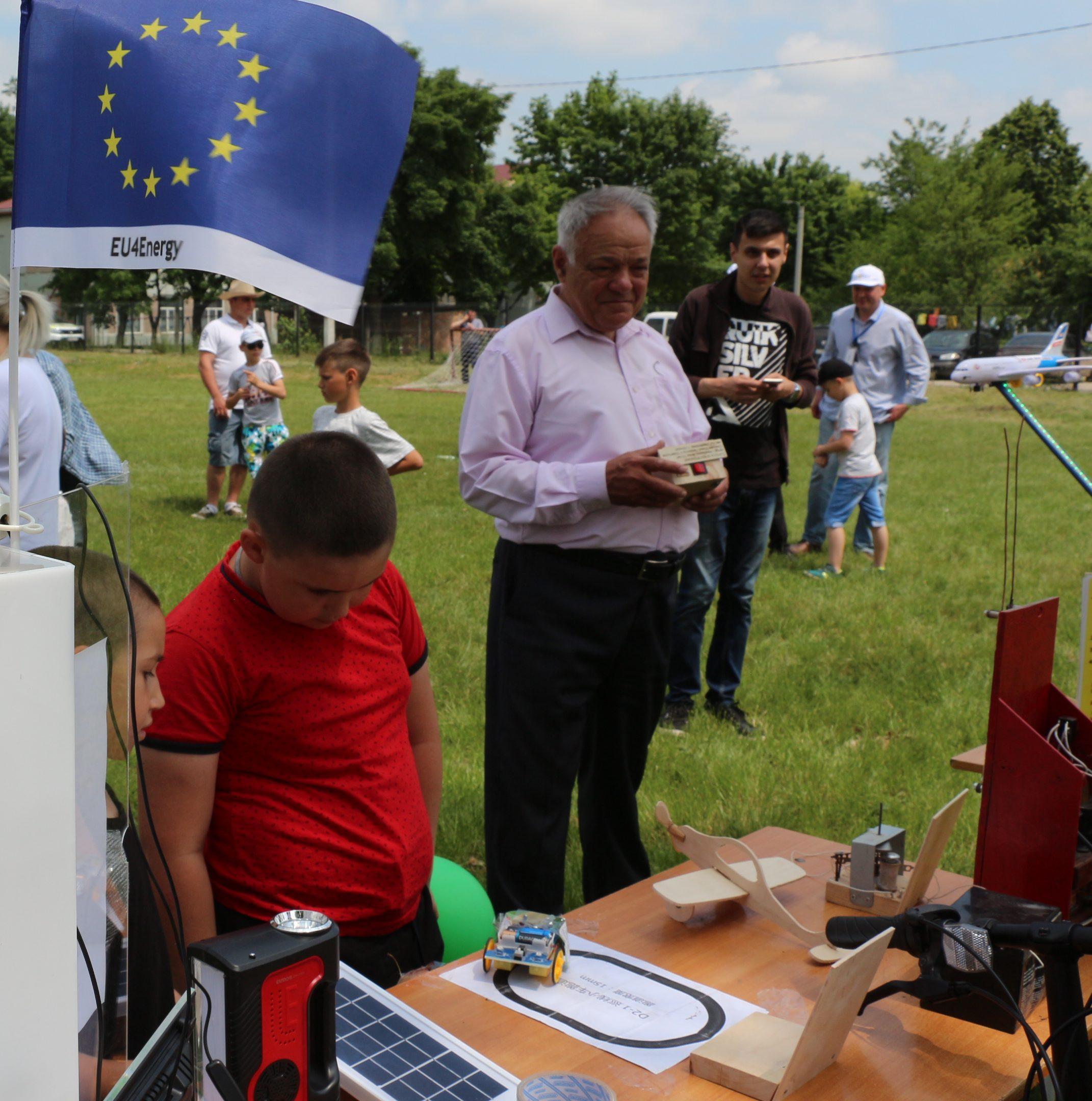 Ziua Energiei a adus la Cantemir o expoziție a tehnologiilor verzi