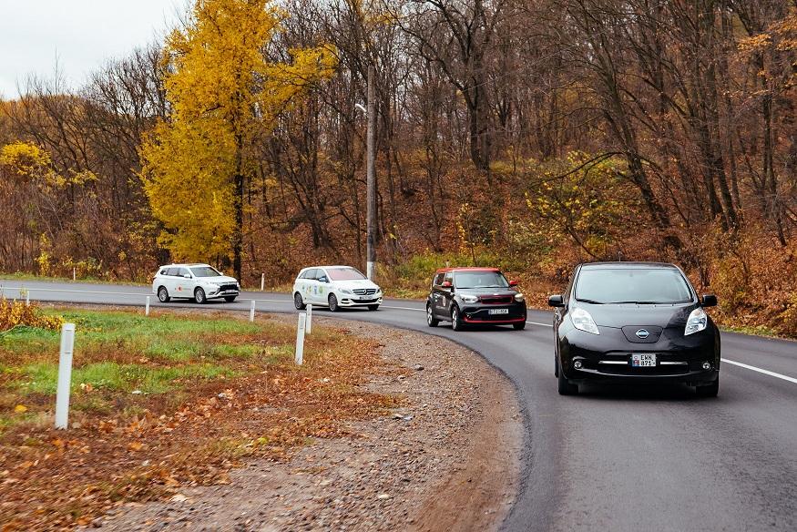 Tot mai multe automobile electrice în Moldova