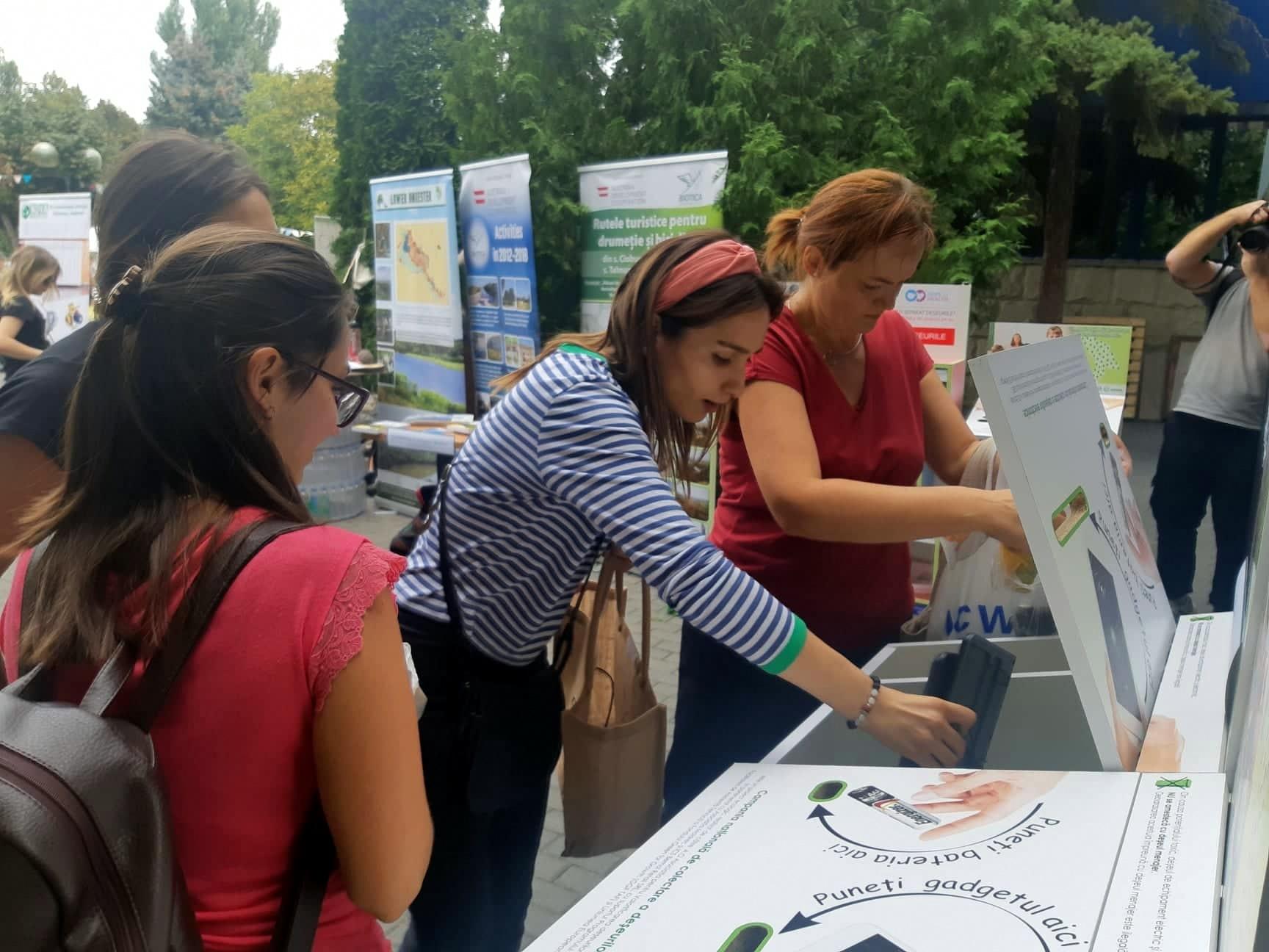 A fost lansată o campanie națională de colectare a deșeurilor electronice
