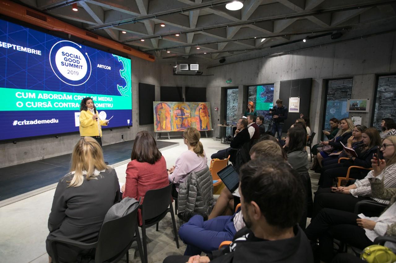 Soluții pentru criza de mediu, la Social Good Summit