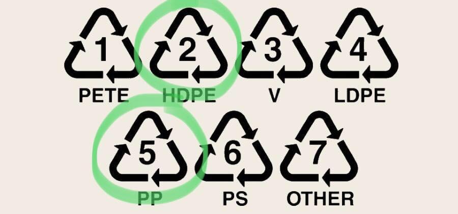 Echipa TEP colectează plasticul de tipul 5 şi 2