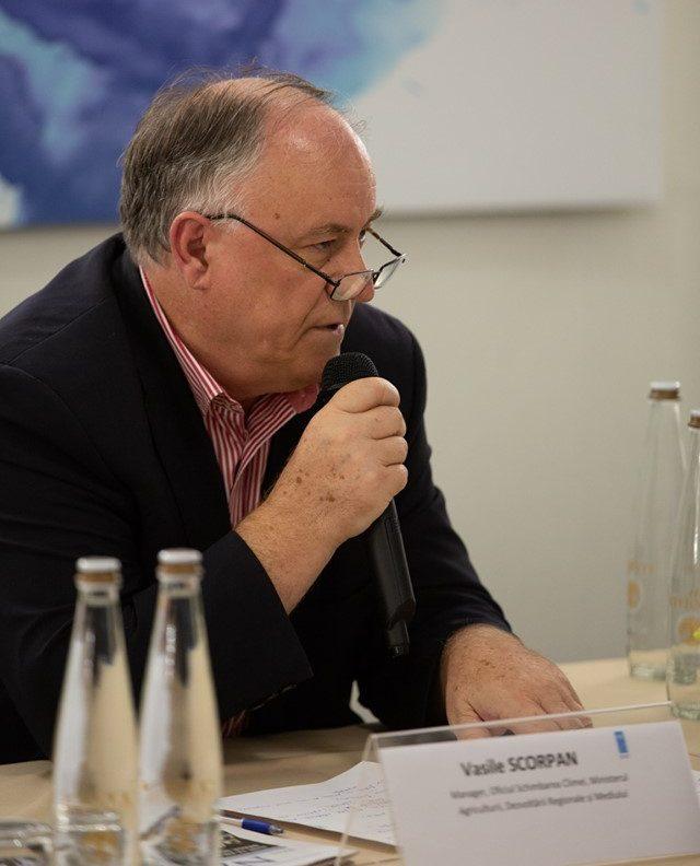 Vasile SCORPAN, Manager, Oficiul Schimbarea Climei, Ministerul Agriculturii, Dezvoltării Regionale și Mediului