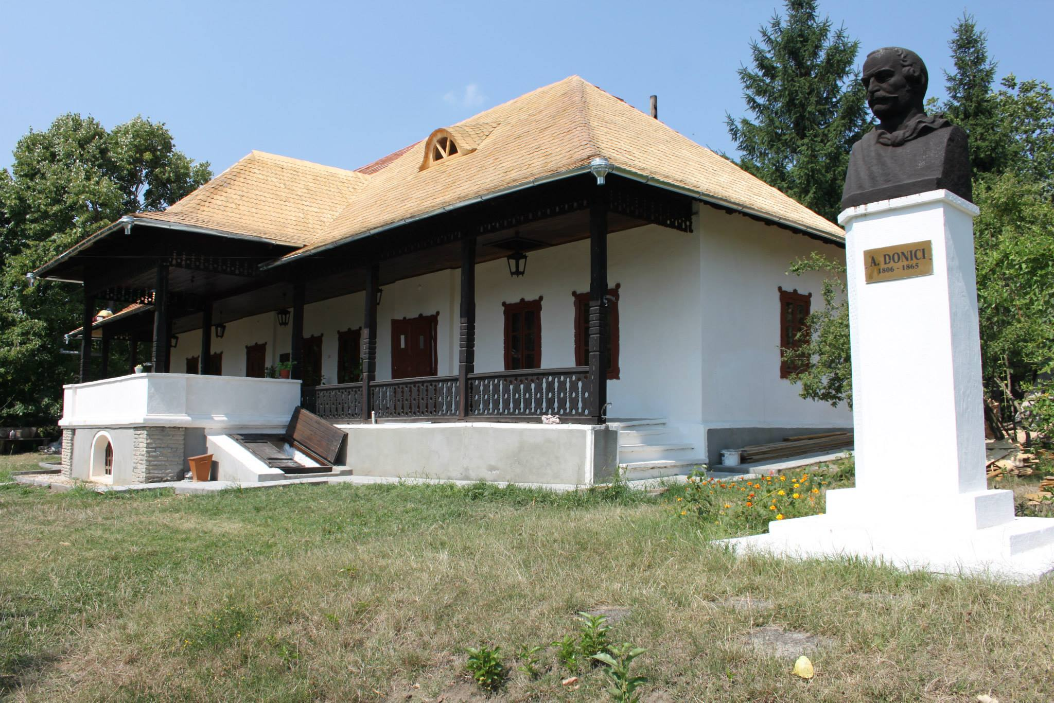 Casa-muzeu Alexandru Donici de la Donici, Orhei